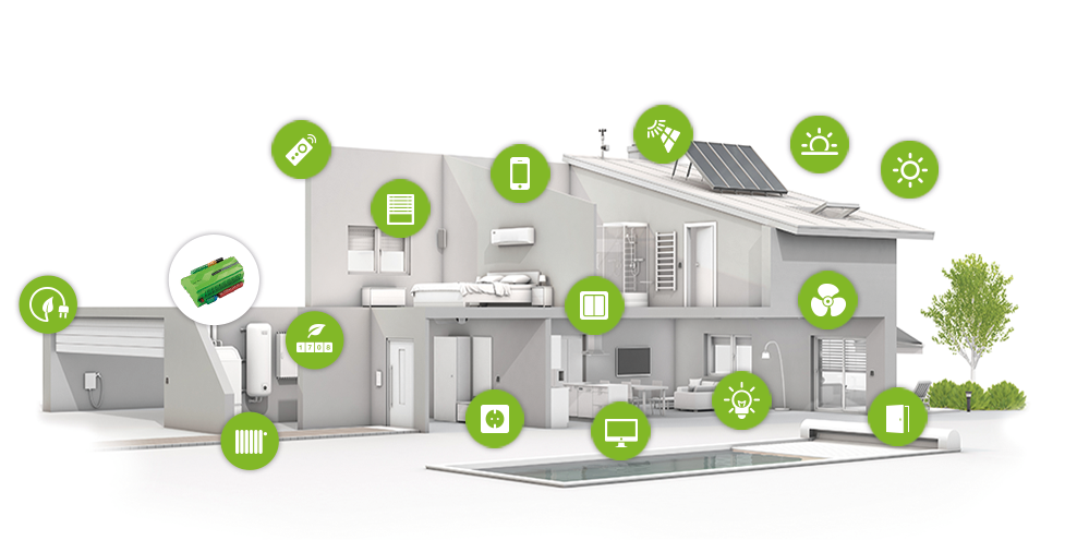 Home Automation And The Internet Of Things Iot Trewin Design - Smart-modern-residence-in-poland
